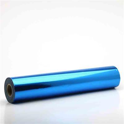 Metallic Blue Foil